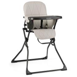 Krzesełko do karmienia ze stolikiem Ricokids błyskawiczne składanie regulowana taca