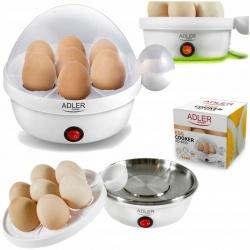 Jajowar automat do gotowania jajek Adler AD 4459 miękko średnio twardo gotowanie