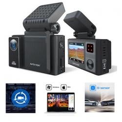 Rejestrator trasy kamera samochodowa AUTO-VOX AD1 Aurora czujnik ruchu G-sensor