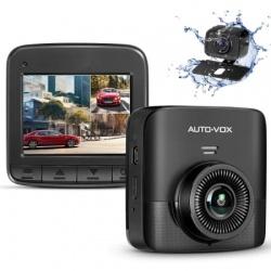 Rejestrator samochodowy DUAL z dwiema kamerami przód i tył AUTO-VOX D5 PRO