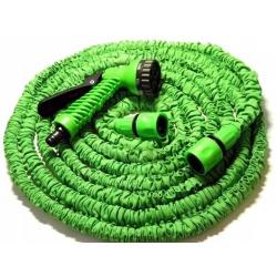 Wąż ogrodowy elastyczny 25 do 75 metrów + pistolet rozciągliwy 7 końcówek