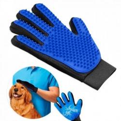 Rękawica do czesania zwierząt sierści wyczesywania psa kota szczotka