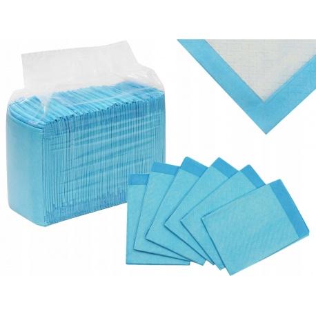 Podkład higieniczny 60x45cm jednorazowy paczka 50 sztuk chłonny