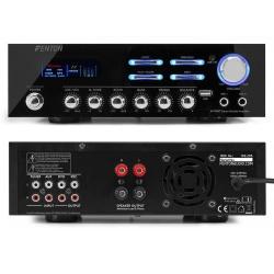 Wzmacniacz do domu Bluetooth odtwarzacz muzyki z USB 2 x 60 W Fenton AV120BT