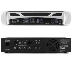 Wzmacniacz dużej mocy PA 2x150W MP3 Bluetooth USB Fenton FPA300 stereo