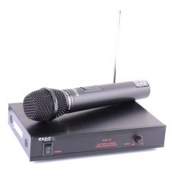 Bezprzewodowy mikrofon z odbiornikiem VHF SYSTEM 203 MHz Ibiza Sound