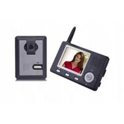 Wideodomofon bezprzewodowy Reer Electronics z kamerą na podczerwień ekran LCD 3,5 cala