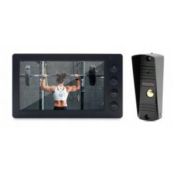 Wideodomofon przewodowy z kamerą ekran 7 cali Reer Electronics sterowanie bramką