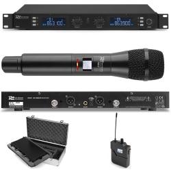 Mikrofon doręczny bodypack z mikrofonem krawatowym i nagłownym zestaw PD632C