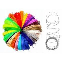 Wkłady PLA do długopisu 3D Pen 30 x filamenty różne kolory 5m łącznie 150 metrów