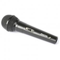 Mikrofon dynamiczny przewodowy Fenton DM100 przewód 3 metry jack