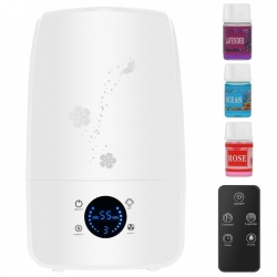 Nawilżacz powietrza z jonizatorem olejki zapachowe aromaterapia 3,2l