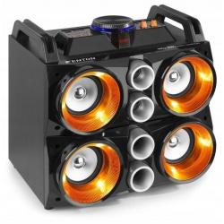 Boombox z akumulatorem Bluetooth nagłośnienie USB Fenton Party Station MDJ200