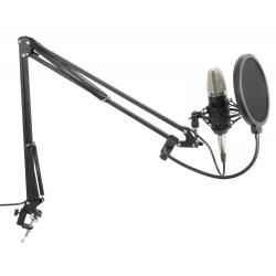 Mikrofon pojemnościowy zestaw studyjny onyx Studio Set z zasilaniem Phantom