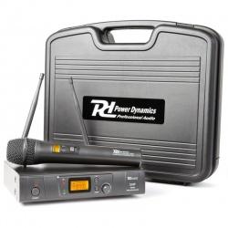 Bezprzewodowy mikrofon doręczny z odbiornikiem UHF Power Dynamics PD781