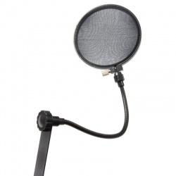 """Ekran mikrofonowy Pop filtr 6"""" PDS-M16 Power Dynamics do mikrofonów studyjnych"""