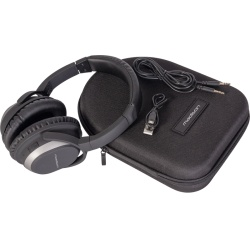 Słuchawki bezprzewodowe nauszne z Bluetooth Hi-Fi Madison MAD-HNB150 etui
