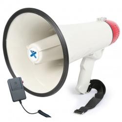 Głośny megafon na baterie 40W Vonyx MEG040 z mikrofonem i funkcją syreny