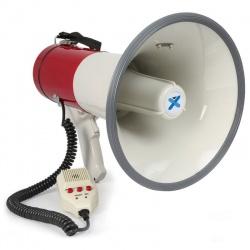 Megafon 50W odpinany mikrofon nagrywanie dźwięku syrena Vonyx MEG050