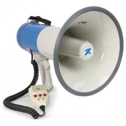 Mocny megafon z syreną USB SD odtwarzacz MP3 Bluetooth 55W Vonyx MEG055
