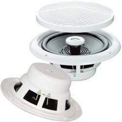 Wodoodporne głośniki sufitowe 120W obudowa ABS dwudrożne SWR6004 LTC