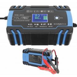 Automatyczny prostownik samochodowy do akumulatorów 12V 8A 24V 4A