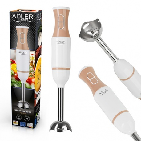 Blender ręczny metalowy Adler AD 4616 mocny 500W ostrze ze stali cicha praca