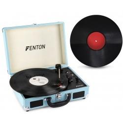 Gramofon z Bluetooth w walizce Fenton RP115 płyta WINYL głośniki przenośny