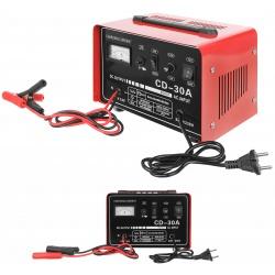 Prostownik samochodowy do ładowania akumulatorów 12V oraz 24V 30A
