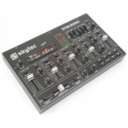 Mikser Dj'ski SkyTec STM2290 z wejściem SD USB odtwarzacz MP3 Bluetooth