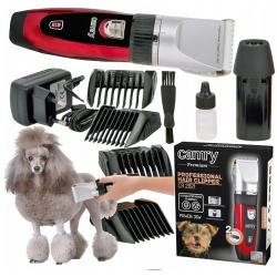 Maszynka do strzyżenia dla psów i innych zwierząt 2 x akumulator CR 2821 Camry