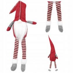 Mikołaj siedzący krasnal skrzat do postawienia na okno półkę na Święta 50cm
