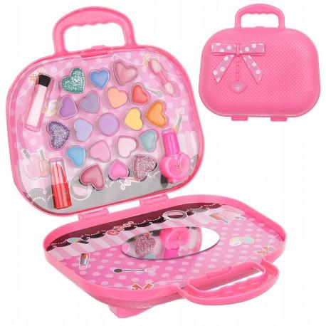 Dziecięcy zestaw do makijażu malowania kosmetyki dla dzieci w torebce