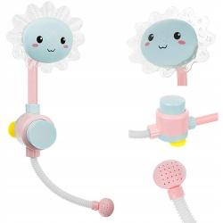 Prysznic dla dzieci słonecznik do zabawy w kąpieli wanie pompka tryskający kwiatek