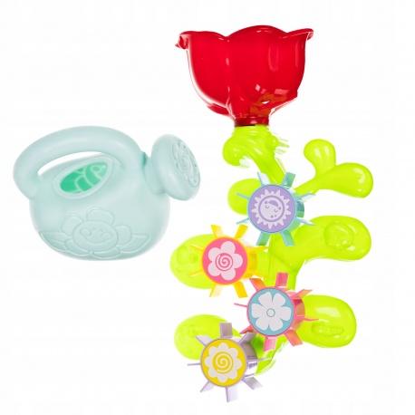 Zabawka do kąpieli wanny młynek kwiatek konewka do napełniania wodą