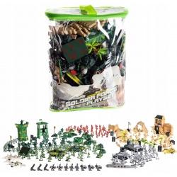 Figurki do zabawy baza wojskowa ogromny zestaw żołnierzyki wojsko armia XXL