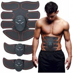 Elektrostymulator mięśni Brzucha EMS 3 STYMULATORY W ZESTAWIE 6 trybów