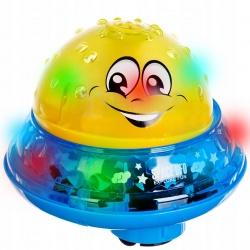 Ośmiornica UFO interaktywna zabawka do kąpieli fontanna lampka projektor