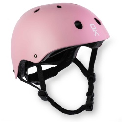 Kask sportowy ochronny Soke K1 różowy 3 rozmiary XS S lub M z regulacją