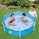 Mały basen stelażowy dla dziecka 152 x 38 cm Bestway 56283 okrągły