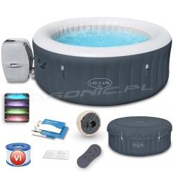 Dmuchane Spa jacuzzi BALI z masażem Bestway 60009 podświetleniem LED