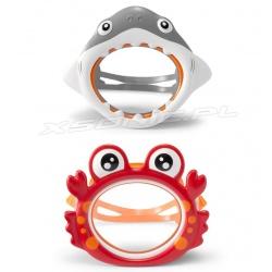 Maska do nurkowania pływania dla dzieci Rekin Krab INTEX 55915
