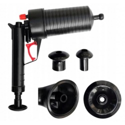 Udrażniacz ciśnieniowy do rur zlewu odpływów pistolet przepychacz folia