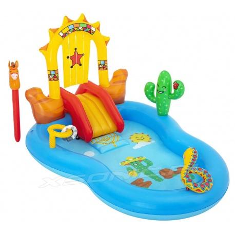 Wodny plac zabaw dla dzieci Dziki Zachód 264x188x140 cm Bestway 53118