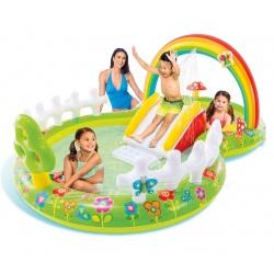 Dmuchany wodny plac zabaw Ogród i Motylki zjeżdżalnia wodna INTEX 57154