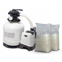 Pompa piaskowa do basenów 12000 l/h INTEX ogrodowych 26652 + 50 kg