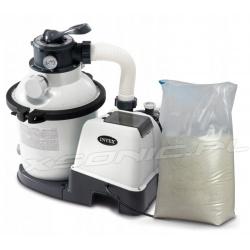 Pompa piaskowa 4500L/h do basenów ogrodowych INTEX 26644 piasek 25kg