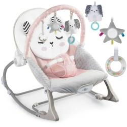 Leżaczek dla dzieci do usypiania bujak multifunkcyjny z wibracjami 3 kolory