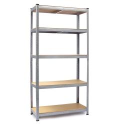 Metalowy regał magazynowy 205 x 120 x 45cm obciążenie do 1000 kg 6 półek