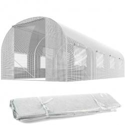 Folia zamiennik na tunel ogrodowy szklarnie 3 x 4,5 m z oknami 13,5 m2